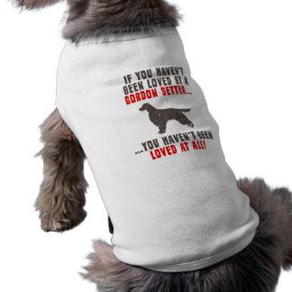 Gordon Setter Sleeveless Dog Shirt