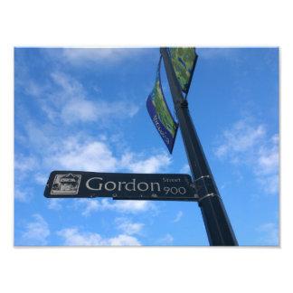 Gordon Street Photo Print