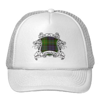 Gordon Tartan Shield Mesh Hats