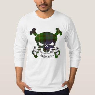Gordon Tartan Skull Tshirts
