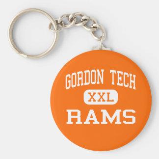 Gordon Tech - Rams - High - Chicago Illinois Key Ring