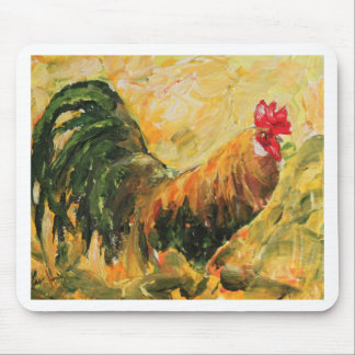 Gordon the Rooster. Unique design just for you Mouse Mat