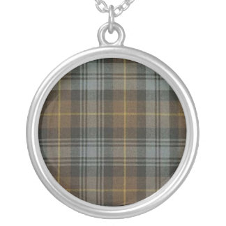 Gordon Weathered Tartan Necklace