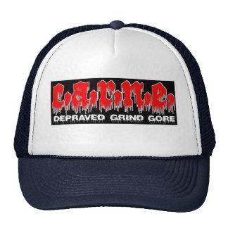 Gore meat trucker hats