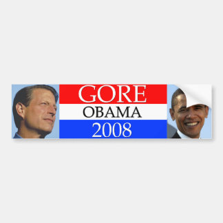 GORE Obama 2008 Bumper Sticker