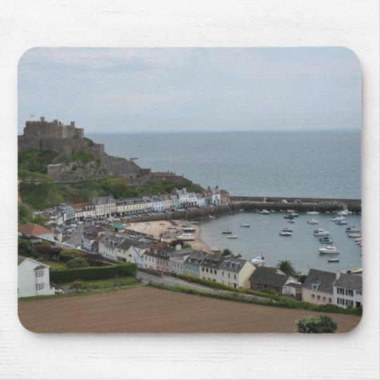Gorey Harbour and Pier Mousepad