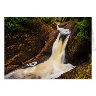Gorge Falls Greeting Card