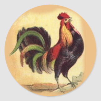 Gorgeoud Rooster Stickers