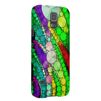 Gorgeous Abstract Bling Pattern Case For Galaxy S5