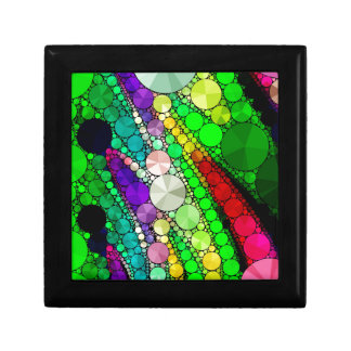 Gorgeous Abstract Bling Pattern Small Square Gift Box