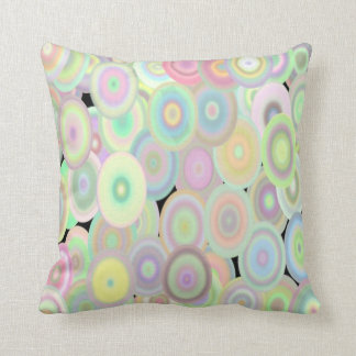 Gorgeous Abstract Circle Shape Throw Pillow Cushions