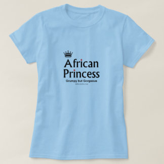 gorgeous african princess tshirts