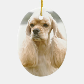 Gorgeous American Cocker Spaniel Christmas Ornament