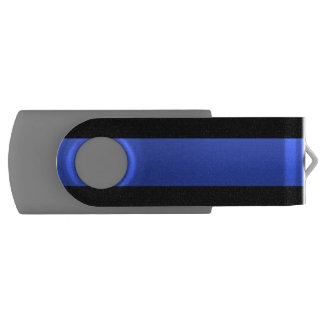 Gorgeous Beautiful Most Popular Thin Blue Line USB Flash Drive