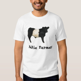 Gorgeous Belted Galloway Steer Cutout Tee Shirt