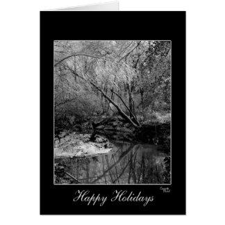 Gorgeous Black & White Holiday Greeting Card