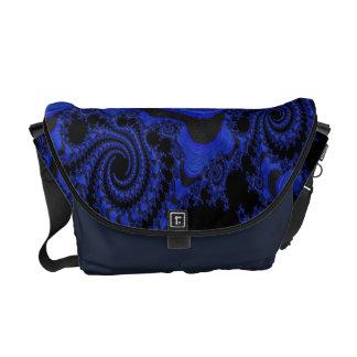 Gorgeous Blue Lagoon Rickshaw Messenger Bag