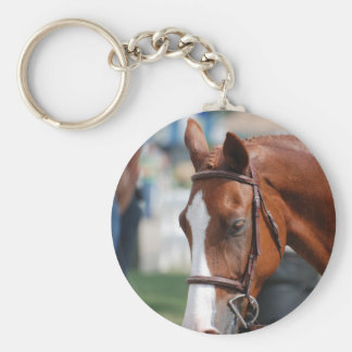 Gorgeous Chestnut Show Horse Key Chains