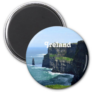 Gorgeous Cliffs of Moher 6 Cm Round Magnet