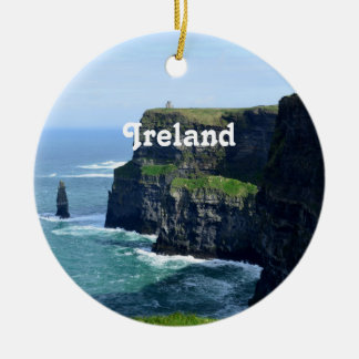 Gorgeous Cliffs of Moher Christmas Ornament