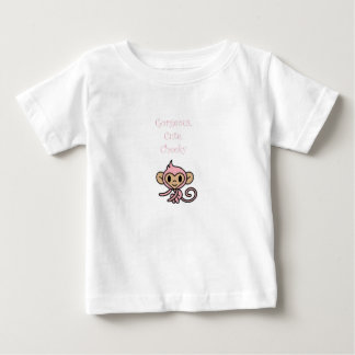 Gorgeous Cute Cheeky Monkey Baby T-Shirt