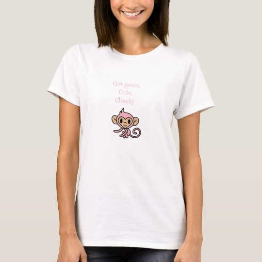 Gorgeous Cute Cheeky Monkey T-Shirt