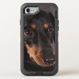 Gorgeous dachshund portrait OtterBox defender iPhone 7 case