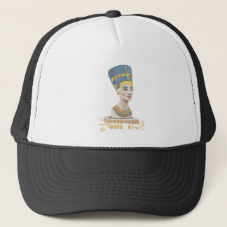 Gorgeous design of Nefertiti Trucker Hat