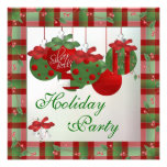 Gorgeous & ELEGANT Holiday Party Invitations