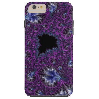 Gorgeous Elegant Violet Purple Intricate Fractal Tough iPhone 6 Plus Case
