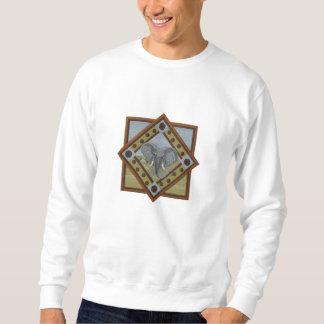 Gorgeous Elephant Embroidered Sweatshirt