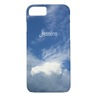 Gorgeous Fat Clouds in a Blue & White Sky, Photo iPhone 8/7 Case
