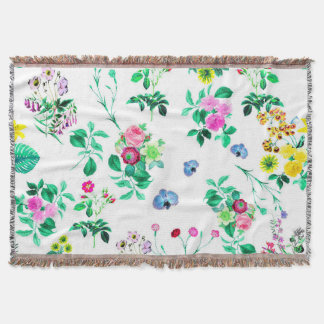Gorgeous Floral Throw Blanket