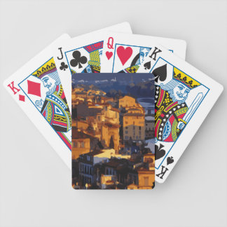 Gorgeous Florence Italy Sunset Scene Bicycle Playing Cards