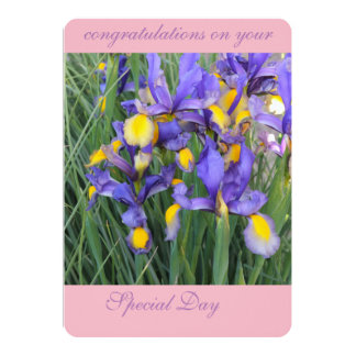 gorgeous flowers card