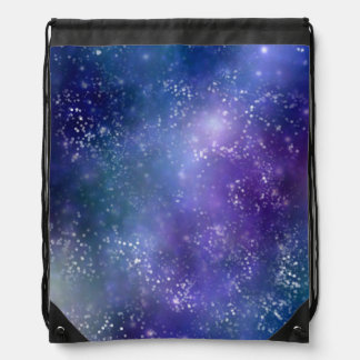 Gorgeous Galaxy Drawstring Backpack