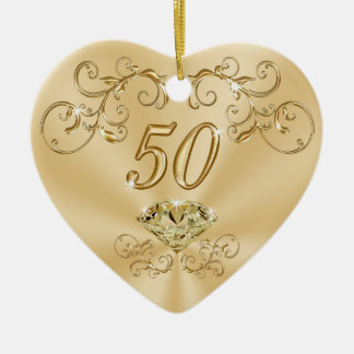 Gorgeous Golden Birthday Gifts for Her: Ornaments