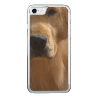 Gorgeous Golden Retriever Carved iPhone 8/7 Case