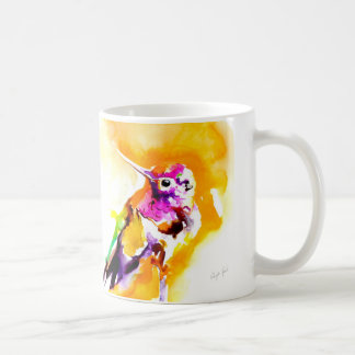 """Gorgeous Gorget"" Hummingbird Print Coffee Mug"