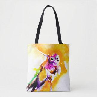 Gorgeous Gorget Hummingbird Print Tote Bag