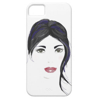 Gorgeous gothic girl phone case