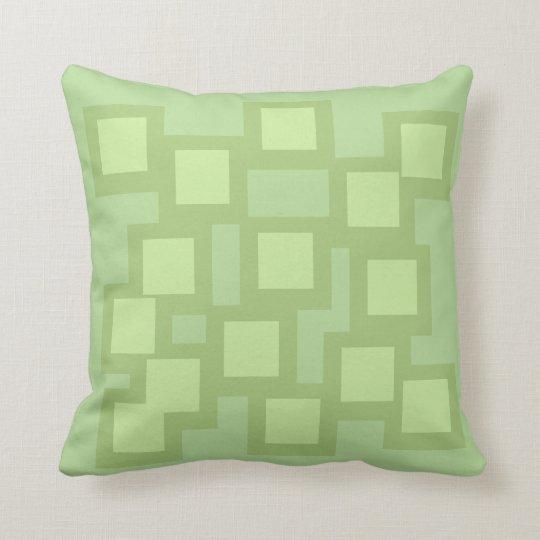 Gorgeous Green Pillow/Cushion Vers 1 Squares Cushion