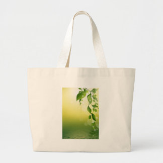 GORGEOUS GREEN VINES TOTE BAGS