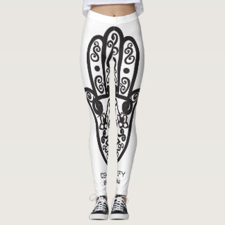 GORGEOUS HAMSA DESIGN LEGGINS LEGGINGS