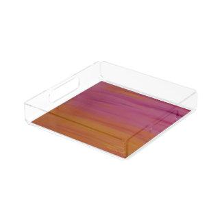 Gorgeous, high quality Pink & Orange Tray