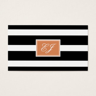 Gorgeous Initials Calling Card