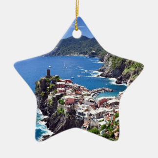 Gorgeous Italian Seaside Christmas Ornament