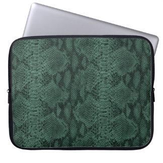 Gorgeous Leather Texture Snake Skin Laptop Sleeve