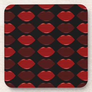 GORGEOUS LIPS COASTER