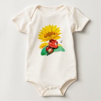 Gorgeous little snoozy Ladybug babysuit Baby Bodysuit